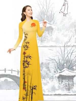 Vải áo dài tre trúc AD H10540 23