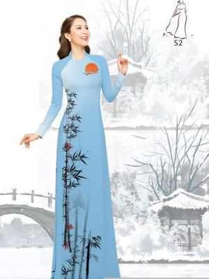 Vải áo dài tre trúc AD H10540 29