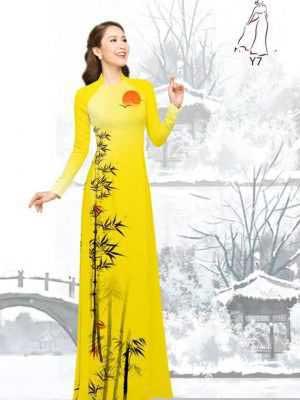 Vải áo dài tre trúc AD H10540 25