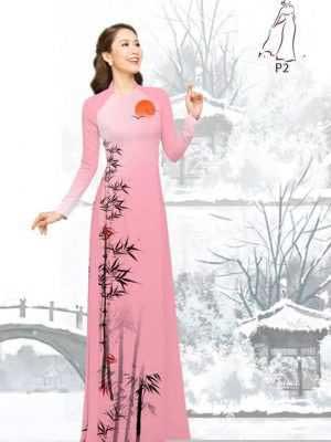 Vải áo dài tre trúc AD H10540 28