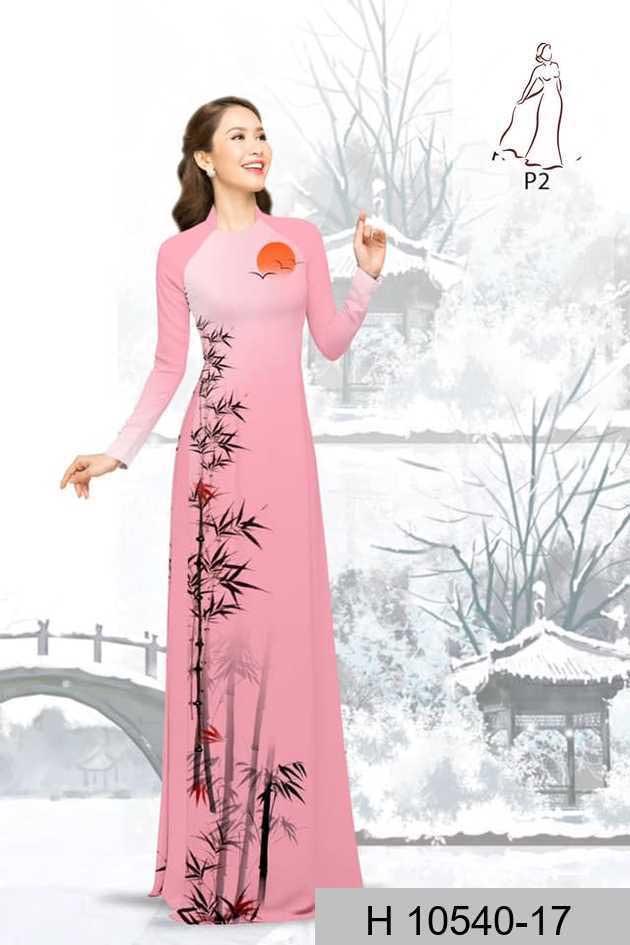 Vải áo dài tre trúc AD H10540 47