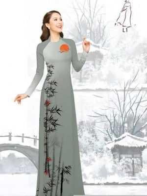 Vải áo dài tre trúc AD H10540 27