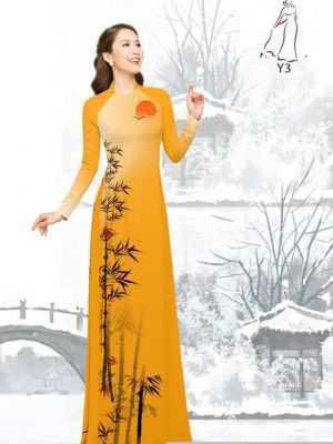 Vải áo dài tre trúc AD H10540 30