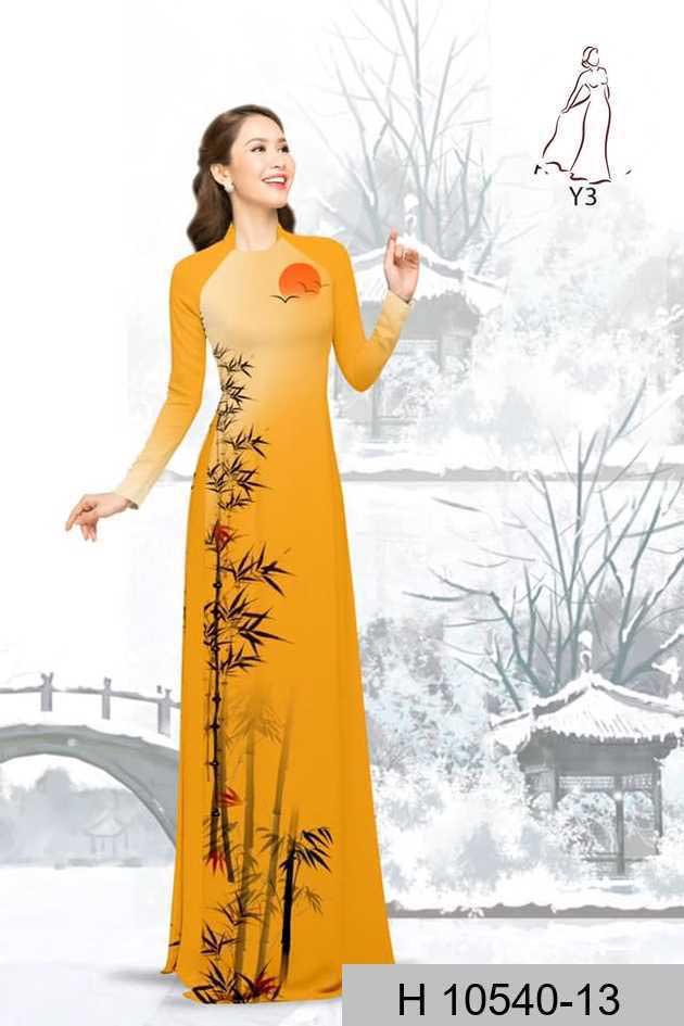 Vải áo dài tre trúc AD H10540 49
