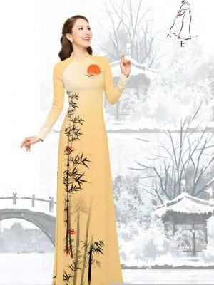 Vải áo dài tre trúc AD H10540 33