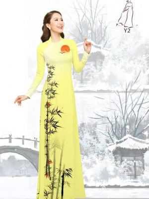 Vải áo dài tre trúc AD H10540 36