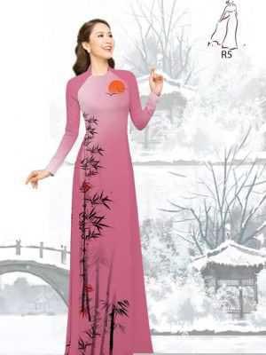 Vải áo dài tre trúc AD H10540 32