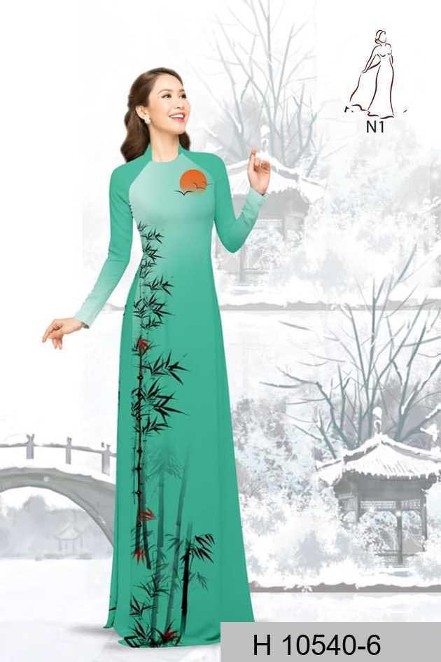 Vải áo dài tre trúc AD H10540 54