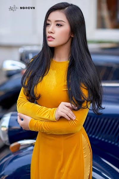 Vải áo dài nhung màu Vàng AD NHUNGVANG 1