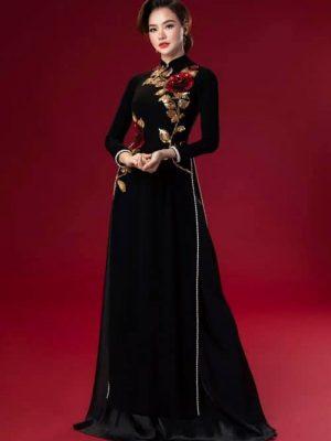 Các kiểu thiết kế cổ áo dài đẹp nhất 7