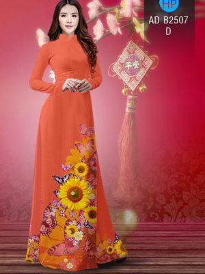 Vải áo dài Hoa hướng dương AD B2507 19