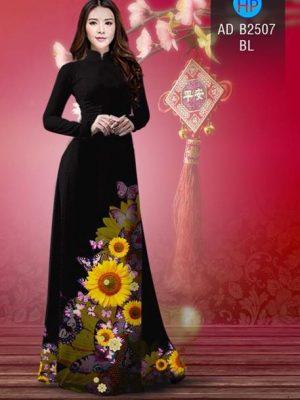 Vải áo dài Hoa hướng dương AD B2507 23