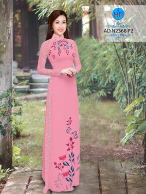 Vải áo dài hoa hướng dương AD TNAD 2892 19