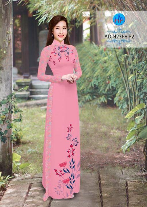 Vải áo dài hoa hướng dương AD TNAD 2892 7