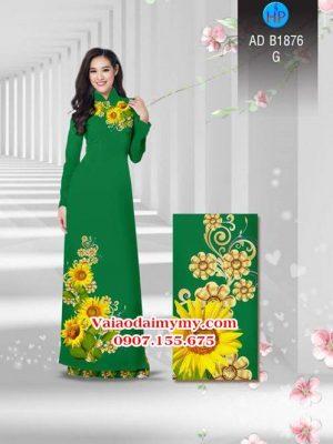 Vải áo dài Hoa hướng dương AD B1876 24