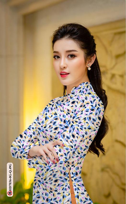 10 Mẫu Vải Áo Dài Hoa Nhí Đang Được Chọn Nhiều Tháng 7 5