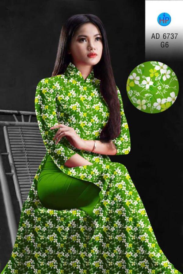 10 Mẫu Vải Áo Dài Hoa Nhí Đang Được Chọn Nhiều Tháng 7 4