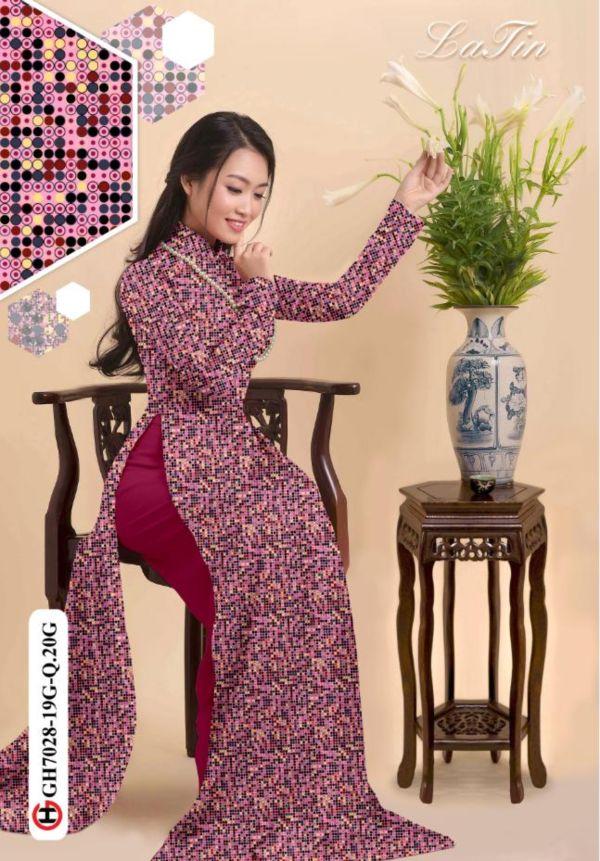 10 Mẫu Vải Áo Dài Hoa Nhí Đang Được Chọn Nhiều Tháng 7 6