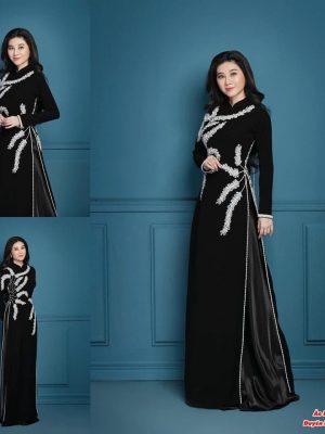 Những mẫu vải áo dài sui gia mới nhất hiện nay 11