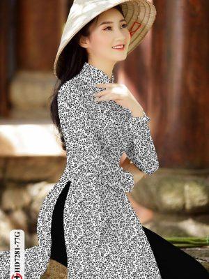 Vải áo dài hoa nhí AD HD7281 18