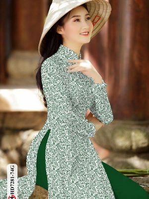 Vải áo dài hoa nhí AD HD7281 19