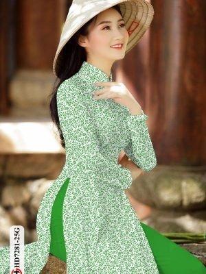 Vải áo dài hoa nhí AD HD7281 25