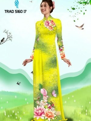 Vải áo dài hoa sen AD TRAD 5160 15