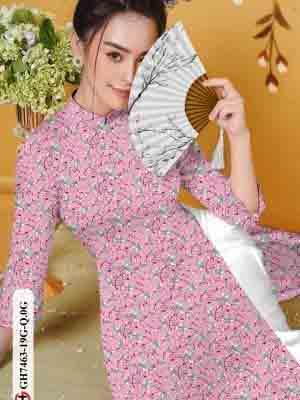 Vải áo dài hoa nhí AD GH7463 25