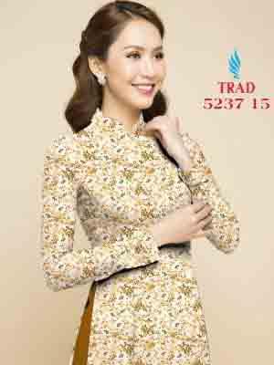 Vải áo dài hoa nhí AD TRAD 5237 11