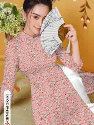 Vải áo dài hoa nhí AD GH7463 16