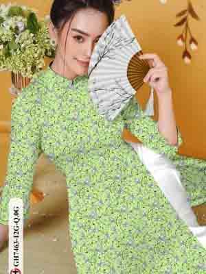 Vải áo dài hoa nhí AD GH7463 19