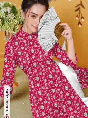 Vải áo dài hoa nhí AD GH7463 17
