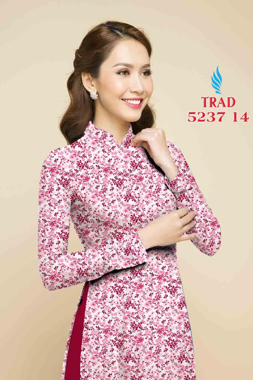 Vải áo dài hoa nhí AD TRAD 5237 16