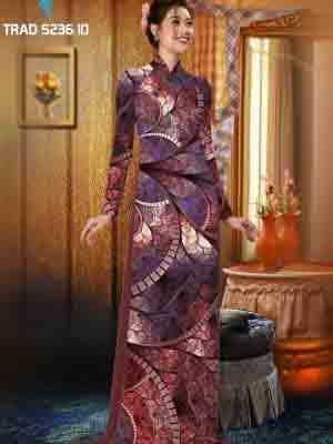 Vải áo dài hoa văn AD TRAD 5236 9