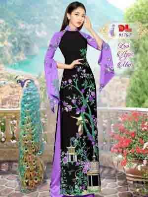 Vải Áo Dài Phong Cảnh AD 9176 29
