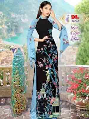 Vải Áo Dài Phong Cảnh AD 9176 28