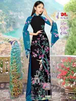 Vải Áo Dài Phong Cảnh AD 9176 36