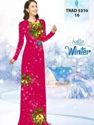 Vải Áo Dài Giáng Sinh AD TRAD 5310 16