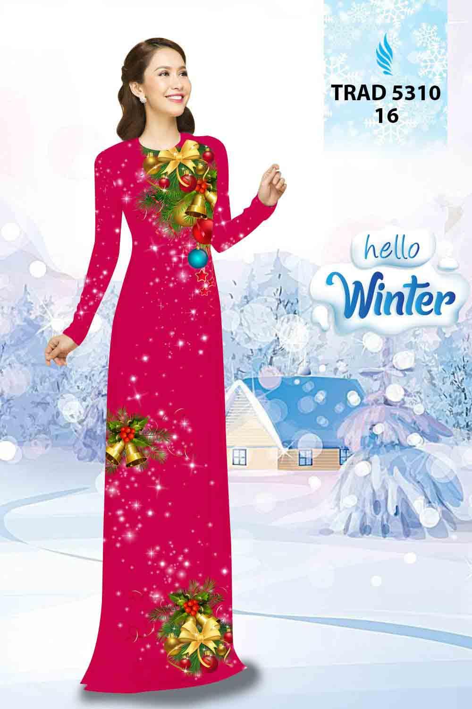 Vải Áo Dài Giáng Sinh AD TRAD 5310 27