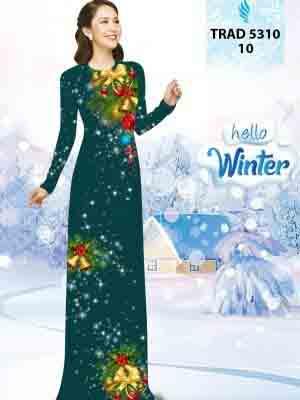 Vải Áo Dài Giáng Sinh AD TRAD 5310 11