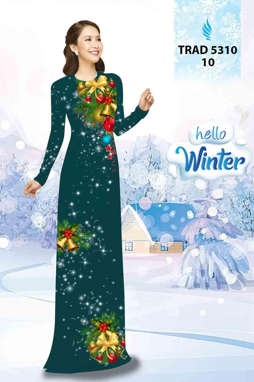 Vải Áo Dài Giáng Sinh AD TRAD 5310 22