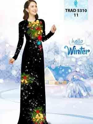 Vải Áo Dài Giáng Sinh AD TRAD 5310 12