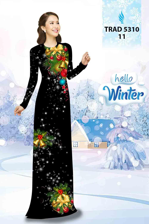 Vải Áo Dài Giáng Sinh AD TRAD 5310 23