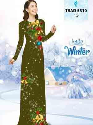 Vải Áo Dài Giáng Sinh AD TRAD 5310 15