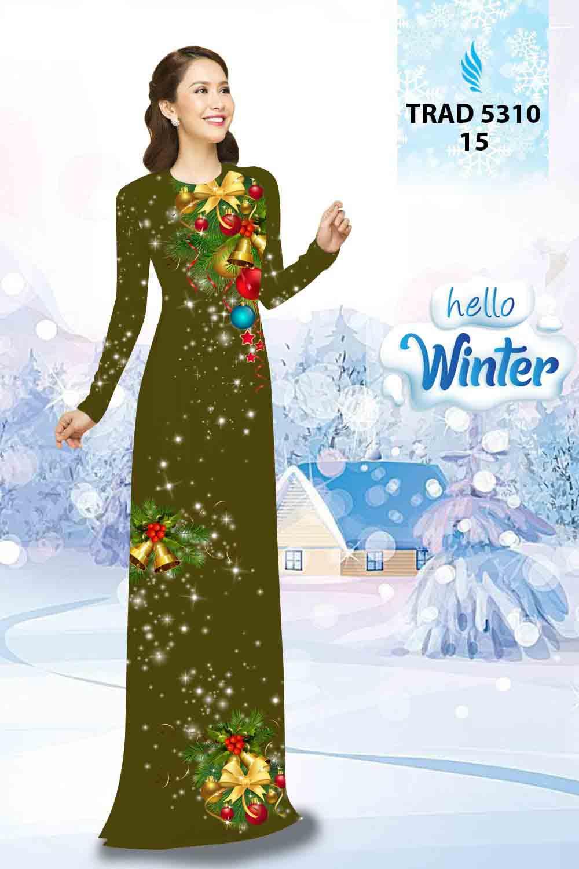 Vải Áo Dài Giáng Sinh AD TRAD 5310 26