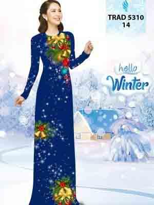 Vải Áo Dài Giáng Sinh AD TRAD 5310 14