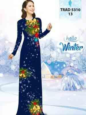 Vải Áo Dài Giáng Sinh AD TRAD 5310 13