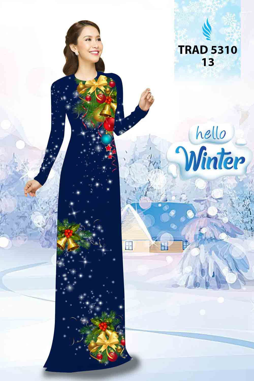 Vải Áo Dài Giáng Sinh AD TRAD 5310 24
