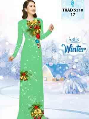 Vải Áo Dài Giáng Sinh AD TRAD 5310 17