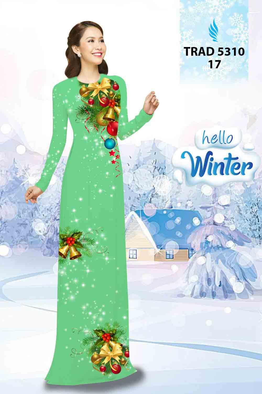 Vải Áo Dài Giáng Sinh AD TRAD 5310 28